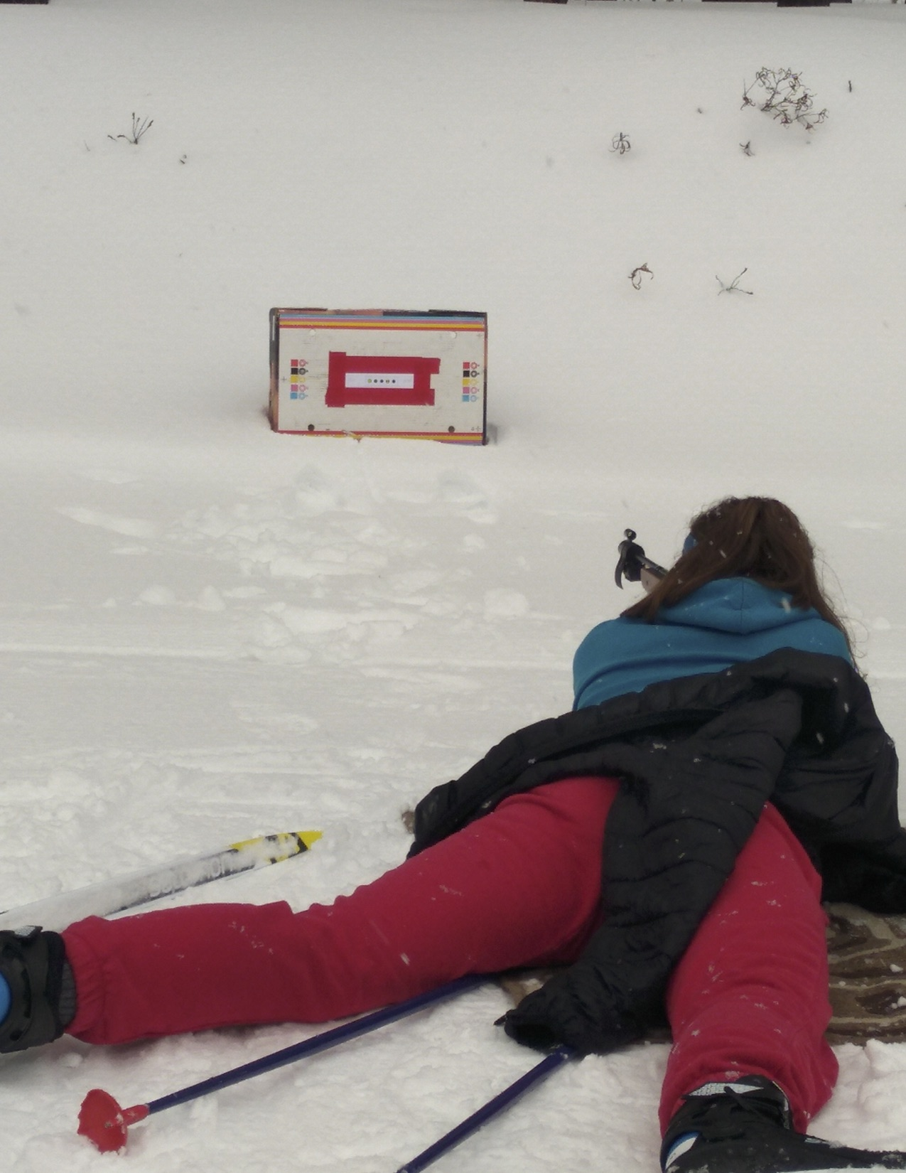 Kaitlyn Biathlon Training